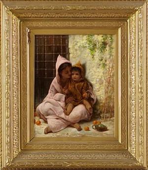 Persisk Kvinna Med Barn by Margaret Murray COOKESLEY