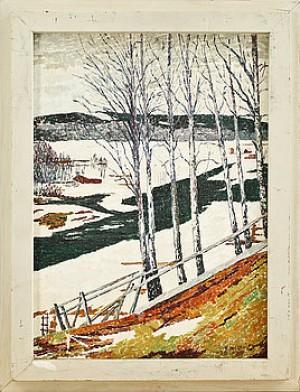 Vinterlandskap by Verner HOLMQUIST