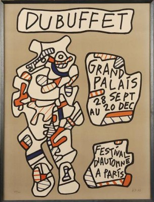 Grand Palais 28 Sept Au 20 Dec Festival D´automn A Paris by Jean DUBUFFET