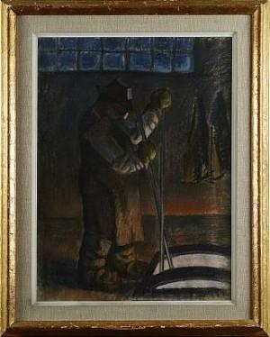 Arbetare by Marcus COLLIN