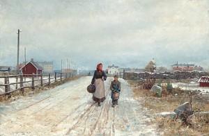 Vid Stadens Utkanter by Gottfrid KALLSTENIUS