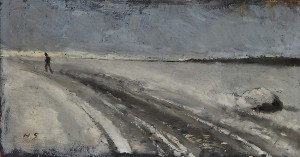 Winter Road by Helene SCHJERFBECK
