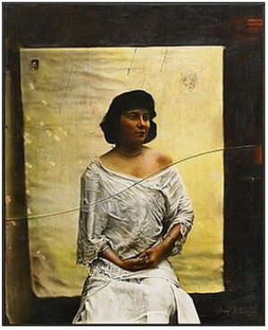 The Cracked Photograph, 1910 by Guy JOHNSON