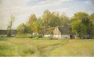 Bondgård - Falsterbo by Gustaf RYDBERG