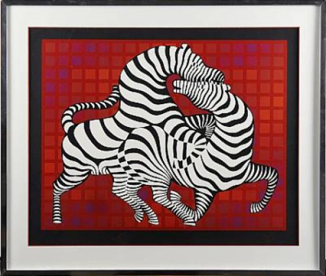 Zebror by Victor VASARELY