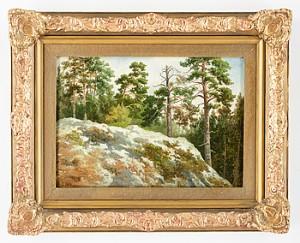 Motiv Från Drottningholmstrakten by Teodor BILLING