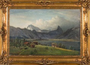 Uvær Over Romsdalsalpene by Peder Cappelen THURMANN