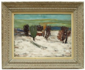 Vinterlandskap by Kalle HEDBERG