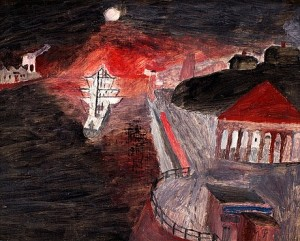 Nattlig Avfärd by Primus Mortimer PETTERSSON