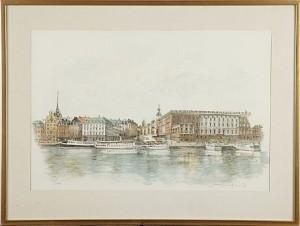 17 St, Stockholmsmotiv, by Jan LUNDQVIST