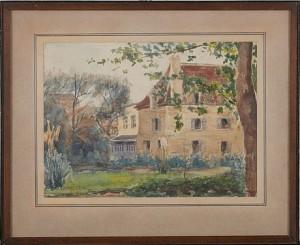 Bourg La Reine by Wilhelmina 'Mina' CARLSON-BREDBERG