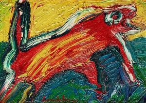 Den Röda Iguanen by Bengt LINDSTRÖM