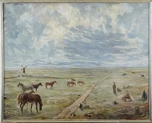 Hästar, Alvaret by Einar FORSETH