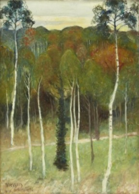 I Skogen Clamart, Bois De Clamart by Olof SAGER-NELSON