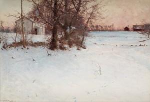 Vinter, Knapegård by Nils KREUGER