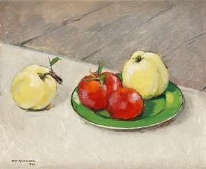 Fruktstilleben by Olle HJORTZBERG