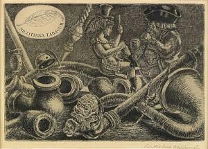 Tobakologiskt Stilleben by Bertil Bull HEDLUND