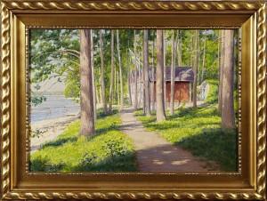 Motiv Från Västervikstrakten by Johan KROUTHÉN