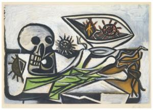 Nature Morte Au Crâne by Pablo PICASSO