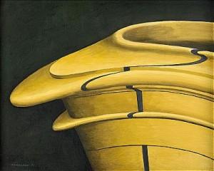 Kakelugnen - Detalj 1 by Hans HAMNGREN