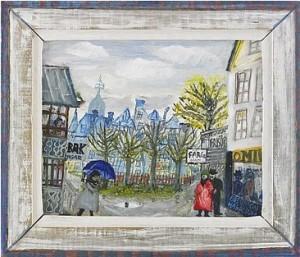 Färghandeln I Hagalund by Olle OLSSON HAGALUND