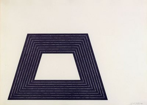 Purple Series: Ileana Sonnabend by Frank STELLA