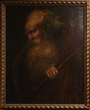 Mansporträtt by Johan LEKSELL