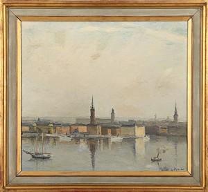 Stockholmsmotiv by Carl LUTHANDER