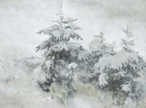 Vinterhare by Bruno LILJEFORS