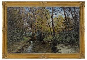 Skogsbäck by Edvard ROSENBERG