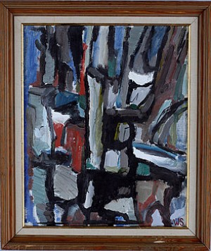 Abstrakt Motiv by Wiking SVENSSON
