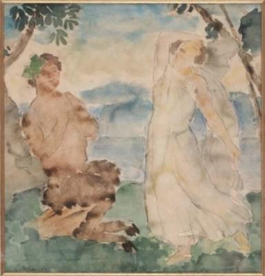 Mytologiskt Motiv by Albert HOFFSTEN