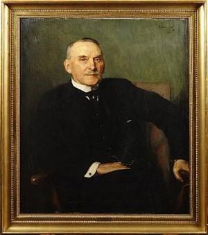 Porträtt Av 1.e Hovmarskalk Carl Malkolm Lilliehöök by Emerik STENBERG