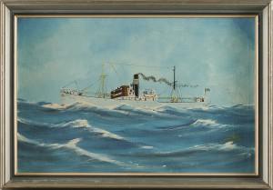Skeppsporträtt Av Båten Mona by Klaas KOSTER
