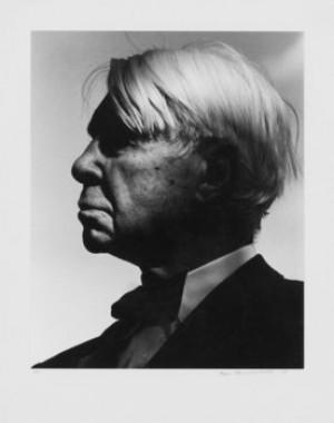 Porträtt Av Carl Sandburg by Hans HAMMARSKIÖLD