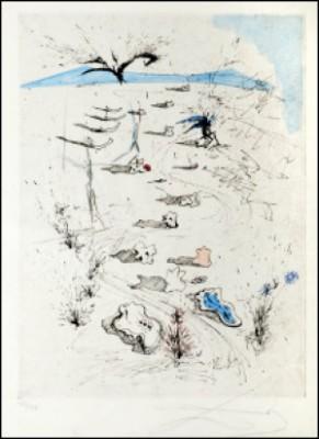 Les Tranchées by Salvador DALI