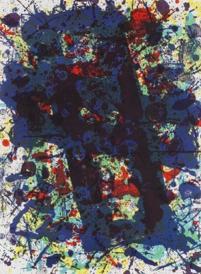 Untitled, From The Papierski Portfolio/seven Prints by Sam FRANCIS
