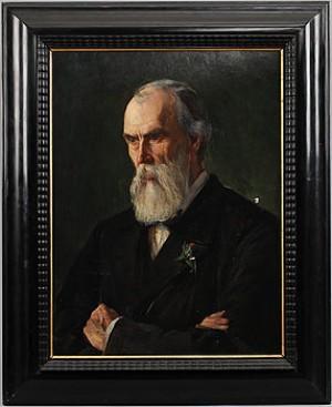 Porträtt Föreställande Konstnären Albert Theodor Gellerstedt by Hildegard THORELL