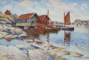 Fiskebodar by Johan ERICSON