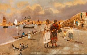 Ansicht Von Venedig by Enrico FRATTINI
