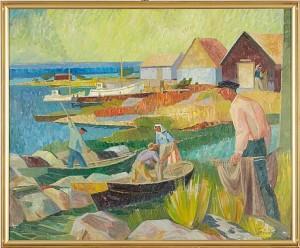 Fiskeläge - Blekinge Skärgård by Gunnar TORHAMN