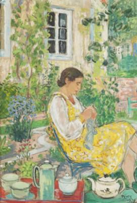 I Trädgården by Arthur PERCY