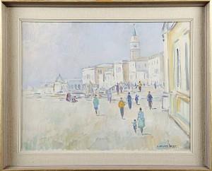 Motiv Från Venedig by Edvin OLLERS