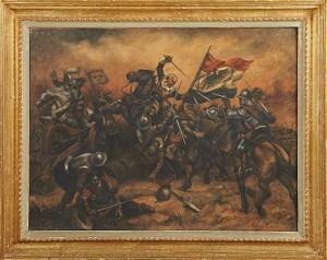 Batalj Gustav Ii Adolf by Allan EGNELL