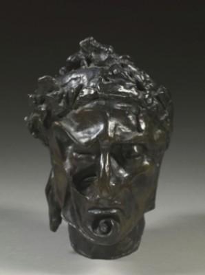 Buste De Dante by Salvador DALI