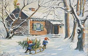 Julgranen Kommer by Jenny NYSTRÖM