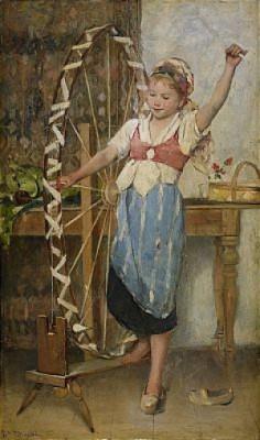 Den Lilla Spinnerskan by Emma EKWALL