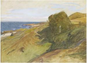 Skälderviken Vid Arild by Richard BERGH
