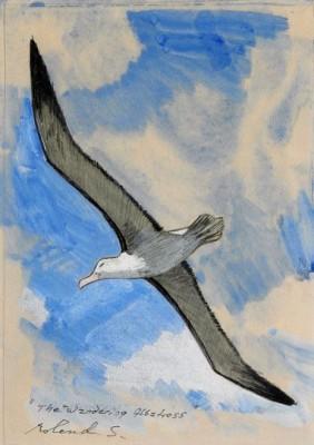 The Wandering Albatross by Roland SVENSSON