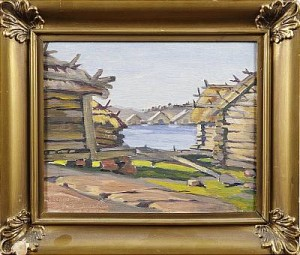 Motiv Från Eckerö by Erik JUSELIUS